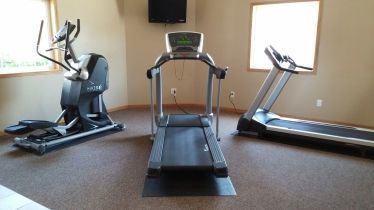 The Stratford Apartments Gym